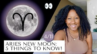 New Moon April 11th! 5 Things to Know 🔮✨