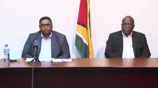 Update by President-elect Dr Irfaan Ali & Prime Minister-elect Brigadier Mark Phillips July 11 2020