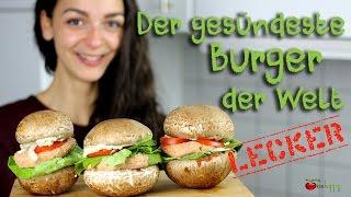 """Veganer Rohkost-Burger mit """"Ketchup & Mayo"""" (glutenfrei & sojafrei)"""