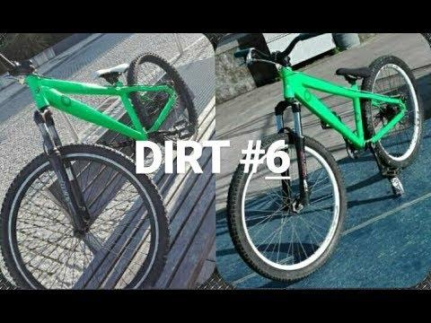 DIRT #6 - Evolução da minha Dirt Jump  VAG B3