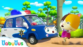 Police Car Rescue Team   Fire Truck, Tractor, Ambulance   Cars for Kids   Kids Songs   BabyBus
