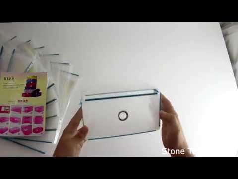 Unboxing Schuhbox Acelectronic 10-er Set Damen Schuhbox Schuhkasten Lagerkasten