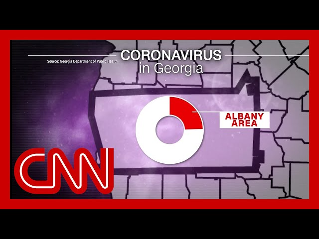 Funerals turn small Georgia town into coronavirus hotspot