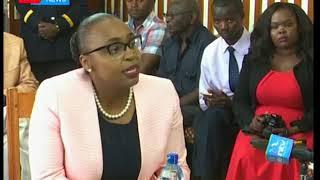 Nyeri county assembly vetting Governor Mutahi Kahiga's nominee for his deputy Caroline Karugu