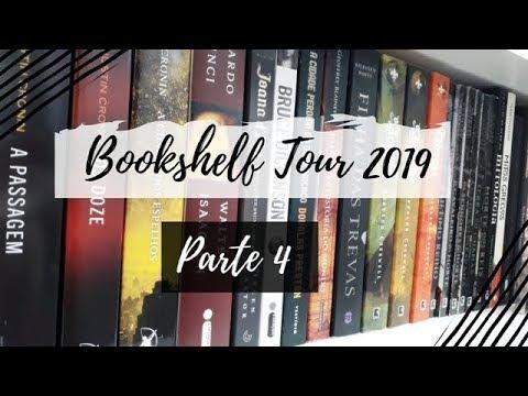 Bookshelf Tour 2019 (Parte 4) | VEDA #20 | Um Livro e Só