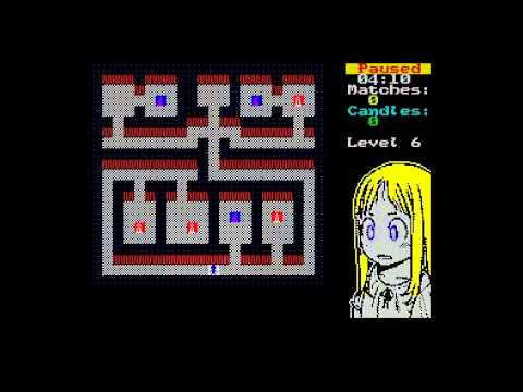 Yumiko in the haunted Mansion - New Game for Sinclair ZX Spectrum 48K