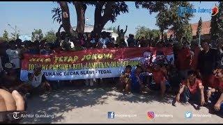 Ratusan Tukang Becak di Slawi Deklarasi Dukung Jokowi Ma'aruf