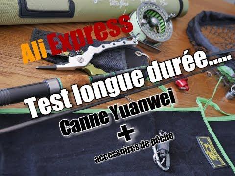 Test longue durée Ali Express canne Yuanwei et accessoires ...
