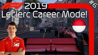 MONACO MIRACLE! F1 2019 Charles Leclerc Career Mode EP6