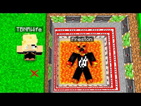 MY WIFE TROLLED ME IN MINECRAFT! (PrestonPlayz vs PrestonPlayz Wife)