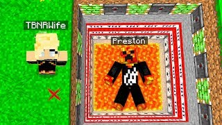 WIFE TROLLING PRESTONPLAYZ in MINECRAFT!