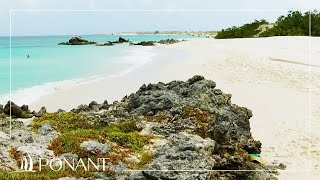 Ponant Cruises: Etienne Garcia talk about the Blanquilla Island