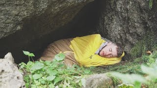 I Spent the Night in a Cave & Something Crazy Happened (Sleep in a Cave Challenge)