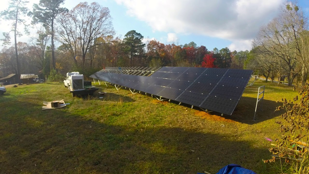 Camp McDowell Time Lapse Solar