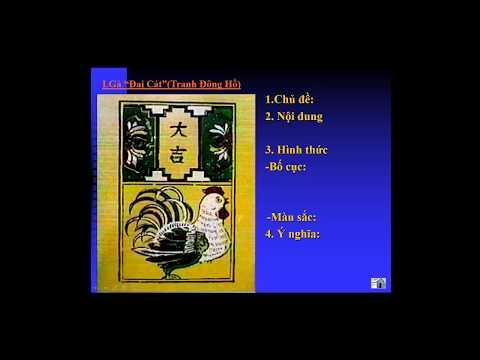 MĨ THUẬT 6 - BÀI 24: GIỚI THIỆU MỘT SỐ TRANH DÂN GIAN VIỆT NAM