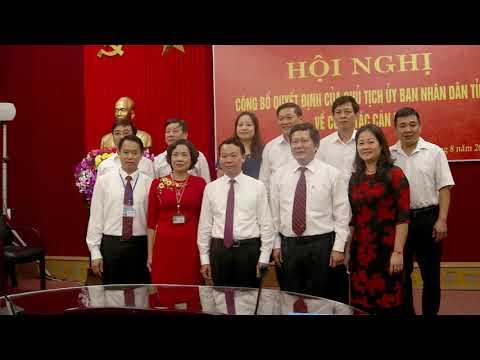Đồng Chí Vương Văn Bằng được bổ nhiệm giữ chức vụ Giám đốc Sở GD ĐT Yên Bái