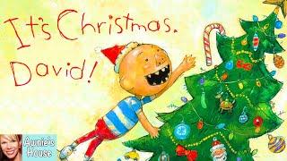 🎄 Kids Book Read Aloud: ITS CHRISTMAS, DAVID! By David Shannon