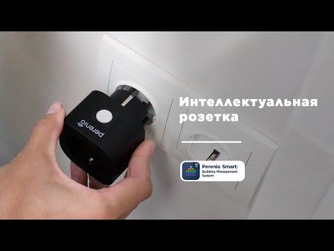 Умная розетка Perenio Power Link PEHPL02 (черный)