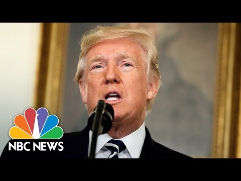 President Donald Trump Makes Statement From White House On Asia Trip (Full) | NBC News