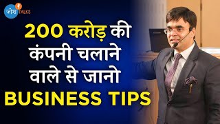 एक Business Idea से बना Successful Businessman | Amit Maheshwari | Josh Talks Hindi