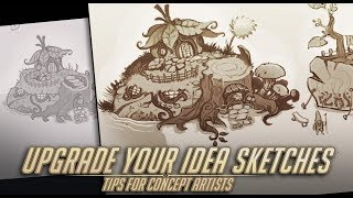 Upgrade Your Design Sketches - Environment Concept Artist Daily Process