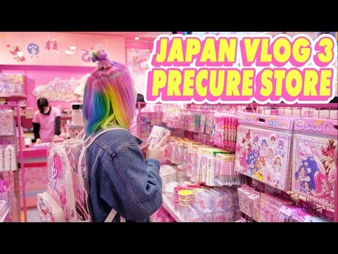 ♡ TOKYO PRETTY CURE STORE!!!!! AHHH | JAPAN VLOG 3 ♡