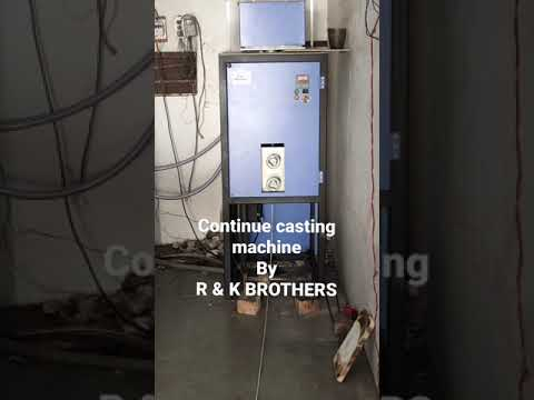 Silver Continuous Casting Machine(Down Cast)