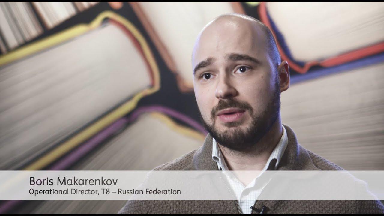 Xerox Book Printers Point of View: Boris Makarenkov - T8 (Russia) YouTube Video