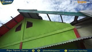 VIDEO: Kakan BPN Nagan Raya Kunjungi Rumah Diterjang Angin Kencang