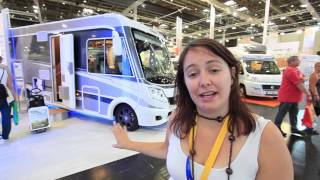 Knaus Sky I Plus 700 LEG  at the 2013 Dusseldorf Caravan Salon - MMM & Which Motorhome video review