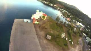 preview picture of video 'FPV RAIATEA FRENCH POLYNESIA / VIDEO DES DOCKS'
