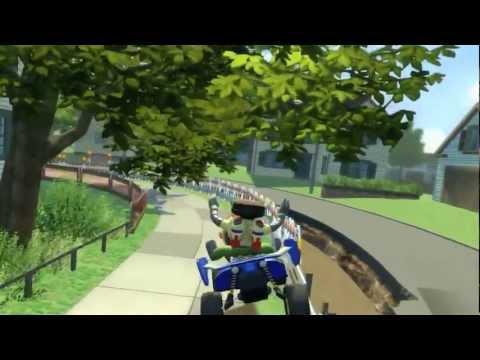 Видео № 1 из игры Kinect Rush (Б/У) [X360, MS Kinect]