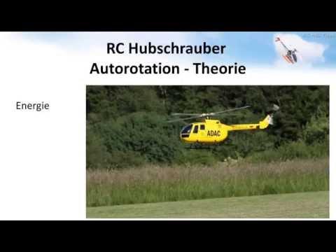 Fliegen 01: Autorotation - Erklärung und Übung