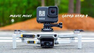 DIY Drone Setup : GoPro Hero 8 on DJI Mavic Mini !
