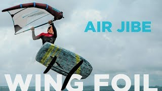 Wing Foil : How to Air Jibe [hydrofoil tutorial]