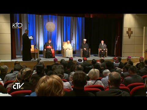 Rencontre oecuménique et interreligieuse du Pape à Sarajevo
