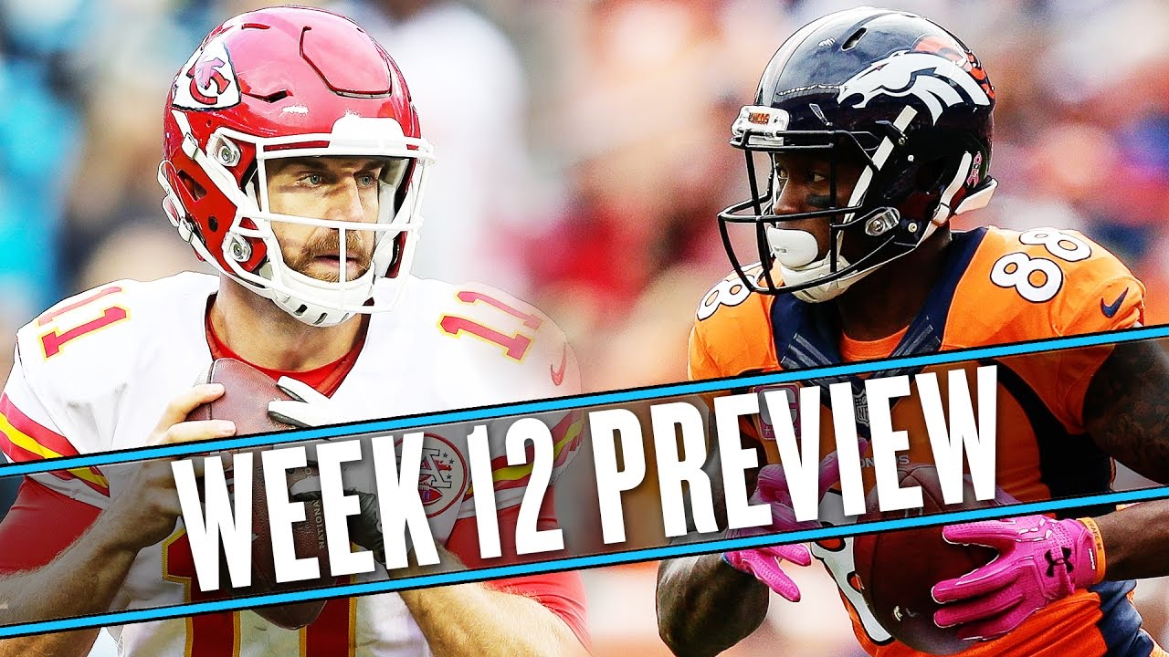 NFL Week 12 preview: Chiefs-Broncos is the best post-Thanksgiving game | Uffsides thumbnail