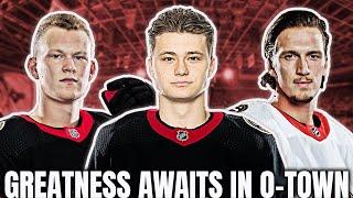 Just how BRIGHT is the Ottawa Senators FUTURE? (Ft Top Shelf Hockey/ Brightest Futures in NHL)