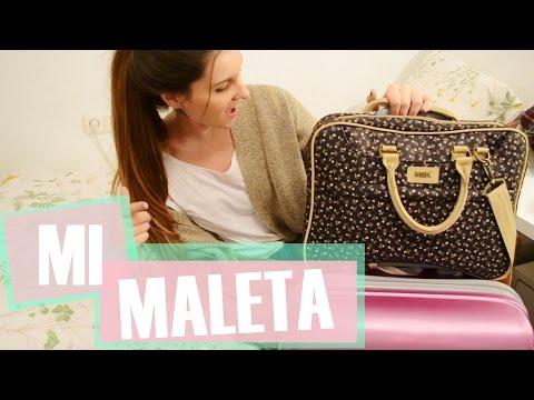 ¿Que hay en mi MALETA? y bolso de viaje. | COCOMOUSSE CM