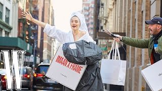 @Sanne Vloet's New York Fashion Week #WithMe | W Magazine