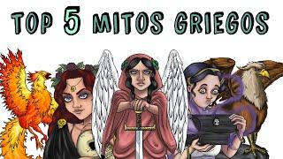 TOP 5 MITOS GRIEGOS: Perséfone, Grifo, Caja de Pandora, Ave Fénix, Némesis | Draw My Life