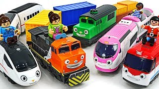 New train Xingxing, Manny! Let's go help the Titipo, Diesel, Genie! #PinkyPopTOY
