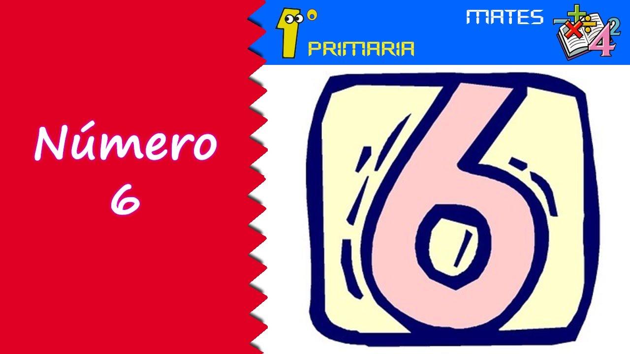 Matemáticas. 1º Primaria. Tema 1: Número 6