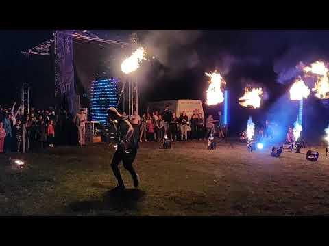 Z-show: Вогняне і світлодіодне шоу на весілля, відео 3