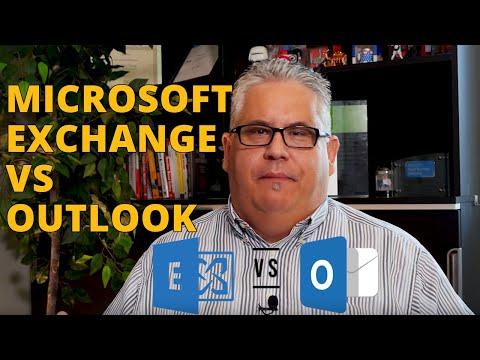 Microsoft Exchange vs Outlook