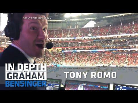 Tony Romo on $180 million CBS contract