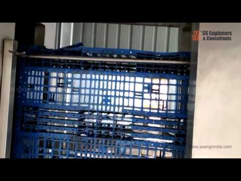 Pallets Cleaning Machine