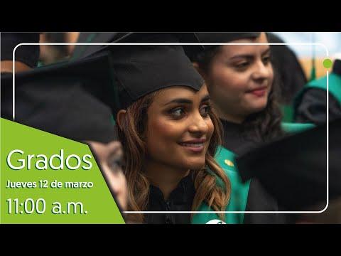 Grados 12 de marzo 11:00 a.m.