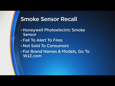 Honeywell Recalls Smoke Sensors Sold With Fire Alarms Due To Failure To Alert Fires