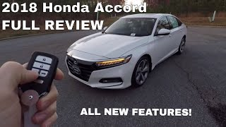 2018 Honda Accord Touring In Depth Review - Inside & Out | Kholo.pk